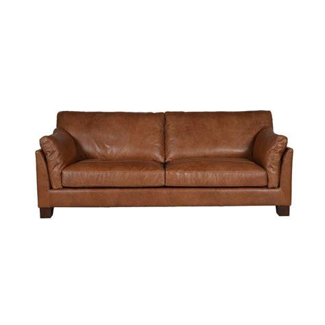 interiors canapé canapé cuir canberra marron interior 39 s
