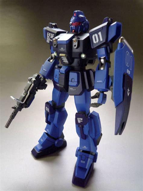 hguc rx bd  blue destiny unit  painted build