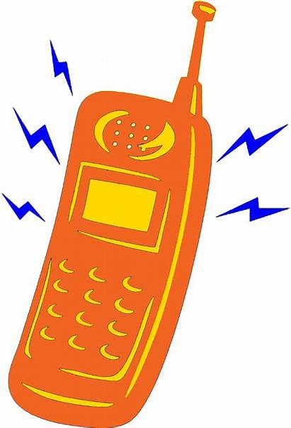 Ringing Phone Clipart Cell Telephone Cliparts Animation