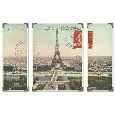Uttermost Wall Pictures by Uttermost Eiffel Tower Panoramic Wall Vintage Finds