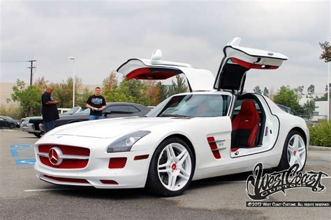 west coast customs customizes tygas mercedes sls