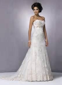 linen wedding dress strapless lace wedding dress ipunya