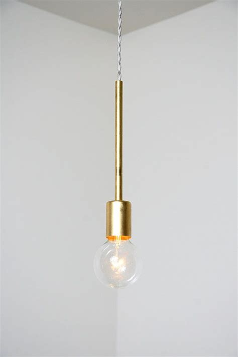 unique handmade brass single pendant light fixture one