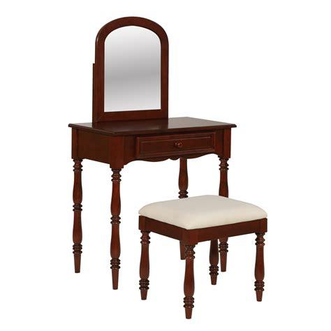powell furniture vanity powell furniture chadwick mirror vanity set with stool