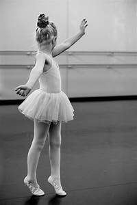 Grayscale Photography of Girl Doing Ballet · Free Stock Photo