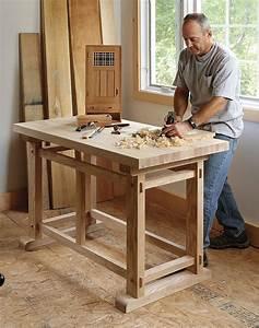 A Small, Sturdy Workbench