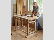 A Small, Sturdy Workbench FineWoodworking