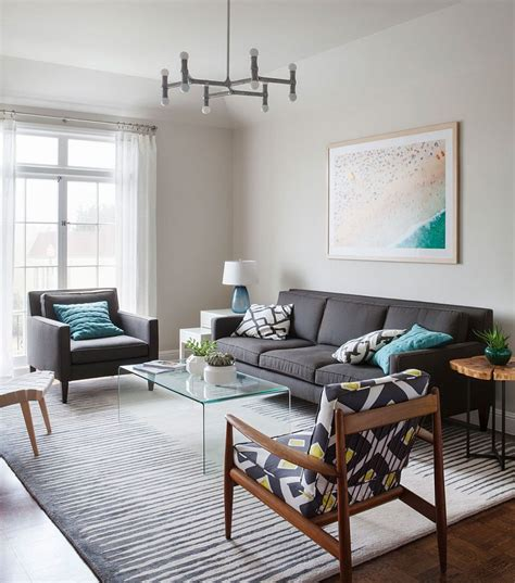 4905 modern grey living room forest hill dreary traditional home turned into an airy