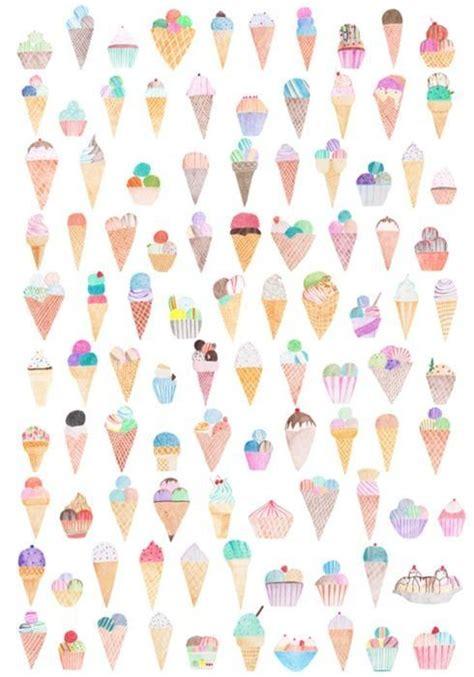 Art ice cream wallpaper background tumblr cute nice pattern   Wallpapers   Pinterest   Geometric