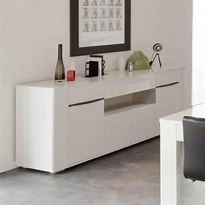 Sideboard Weiß 200 Cm : hochglanz sideboard in wei 200 cm breit sideboard wohnzimmerschrank kommode sidebord wohnzimmer ~ Markanthonyermac.com Haus und Dekorationen