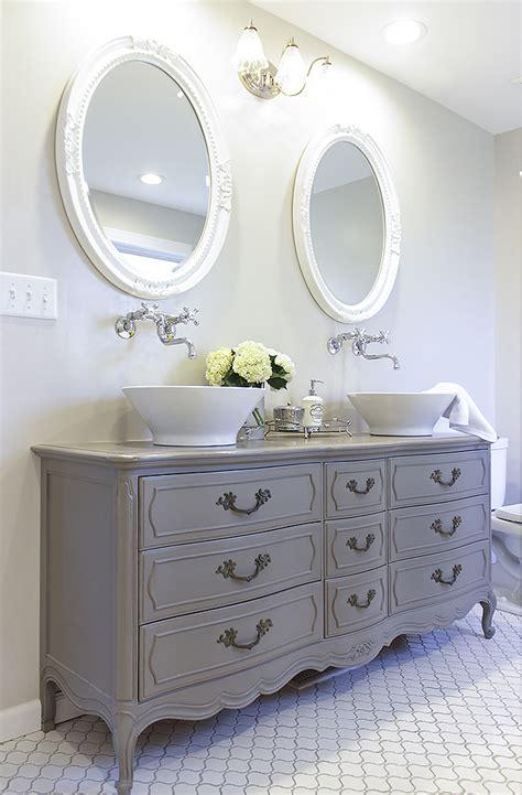 stunning bathroom  dresser  double vanity