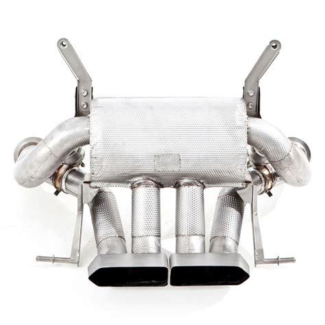 exhaust tubi style lamborghini aventador lp  lp