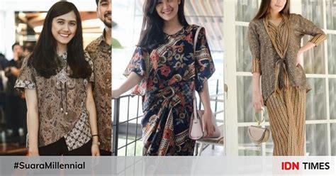 Daster Batik Anggun Sammy 10 model baju batik terbaru yang bakal jadi tren buat