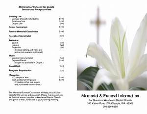 Free funeral service memorial templates music search engine at searchcom for Free funeral service program template