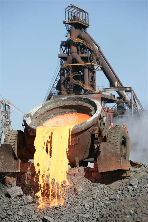 Steel Mill Slag Pot Images