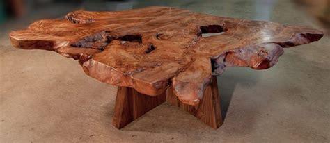 Ancient Kauri and Walnut Coffee Table