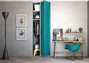 les portes de placard pliantes pour un rangement joli et With porte pour petit placard