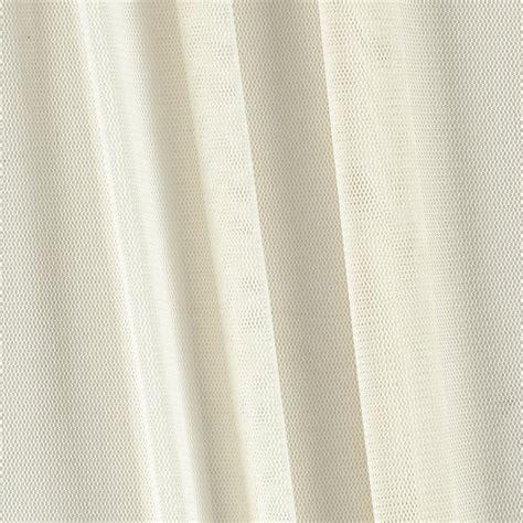 illusion power mesh ivory discount designer fabric fabric