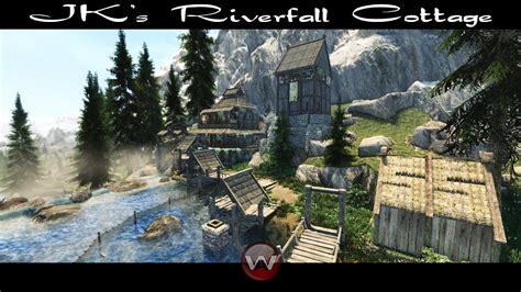 JK's Riverfall Cottage - Skyrim SE 2020 - YouTube