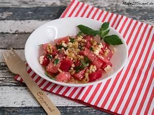Kann Man Minze Einfrieren : wassermelone feta salat mit minze und walnuss rezept ~ Lizthompson.info Haus und Dekorationen