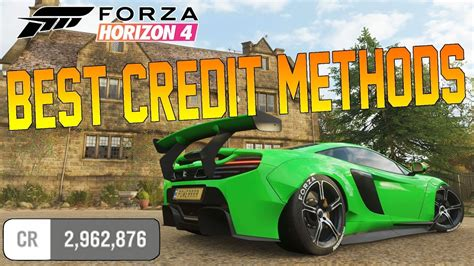 forza horizon 4 credits forza horizon 4 how to get credits fast credit wheelspin methods