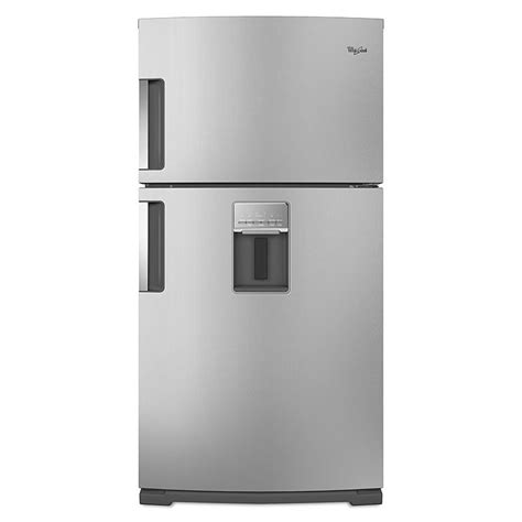 side by side refrigerator reviews whirlpool wrt771reym 21 1 cu ft top freezer
