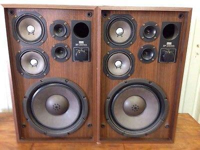 vintage  sansui sp   watt speakers vintage speakers vintage electronics speaker