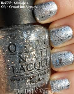Silver Glitter Nail Polish OPI