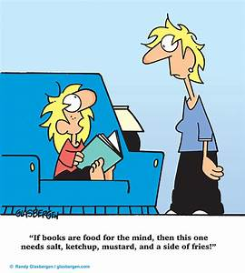 Cartoons About Reading