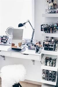 Nagellack Regal Ikea : meine neue schminkecke inklusive praktischer kosmetikaufbewahrung ~ Markanthonyermac.com Haus und Dekorationen
