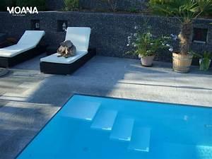 Hunde Pool Bauen : schwimmbad mit verdeckter berlaufrinne und herzigem hund schwimmbad treppen pinterest ~ Frokenaadalensverden.com Haus und Dekorationen