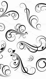 Swirls Vectors ~ Illustrations on Creative Market