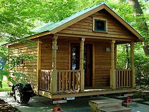 Small log cabin kits with common design your dream home for Tiny log cabin kits