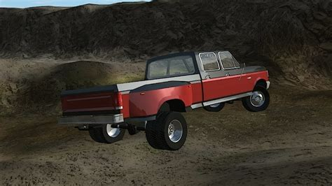 rigs  rods driving   ford   crew cab dually