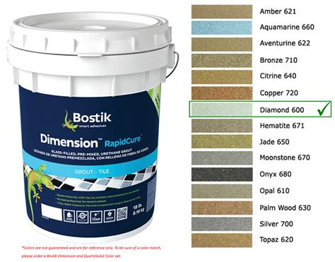 bostik glass grout bostik dimension grout 600 diamond 18 lbs starglass