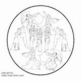 Christmas Days Coloring Pages Dancing Ladies Nine Tree Own Dancers Line Drawings Pear Getcoloringpages sketch template