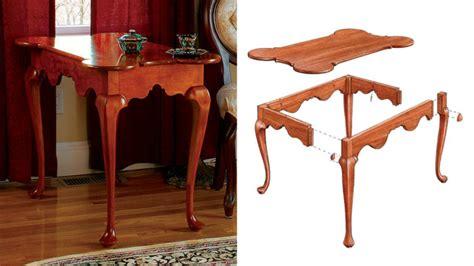 porringer top tea table finewoodworking