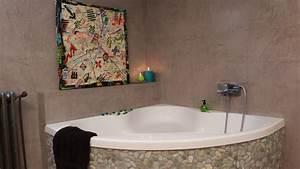 Recouvrir Un Carrelage Mural : salle de bain recouvrir du carrelage salle de bain meilleures id es de conception d 39 accueil d ~ Melissatoandfro.com Idées de Décoration