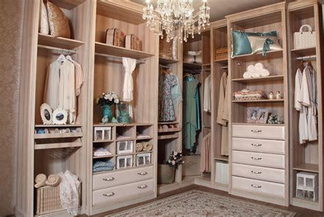 Pastoral style dressing room design