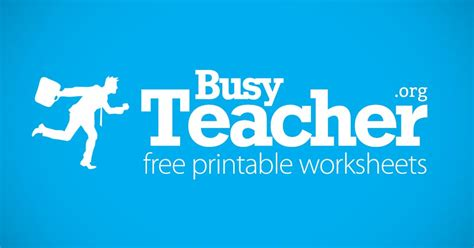 36,631 Busyteacher Free Printable Worksheets For Busy English Teachers