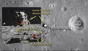 NASA Probe Sees Apollo 11 Moon Landing Site from Space (Video)
