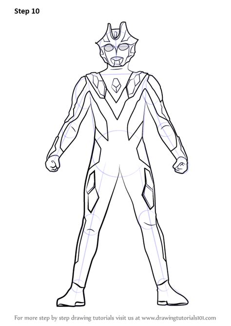 learn   draw ultraman xenon ultraman step  step drawing tutorials