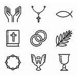 Christian Symbols Christianity Icon Icons Svg Packs