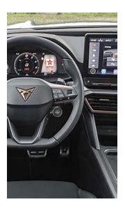 Cupra Formentor e-Hybrid interior & comfort   DrivingElectric