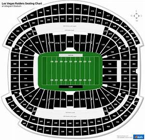 Allegiant Stadium 100 Level Endzone Football Seating