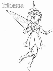 Disney Fairies Pixie Hollow Coloring Pages - Coloring Home
