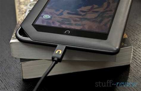nook color charging cable nook color review