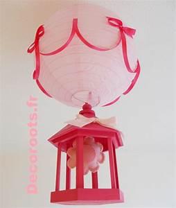 Lustre Bébé Fille : lustre suspension fille fleur de printemps rose fuschia et pastel enfant b b luminaire ~ Teatrodelosmanantiales.com Idées de Décoration