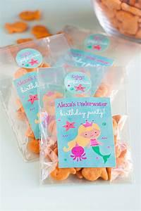 3 DIY Mermaid Party Favor Ideas - Party Inspiration