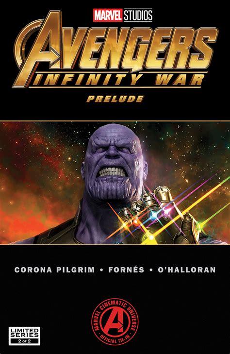 marvels avengers infinity war prelude   comics
